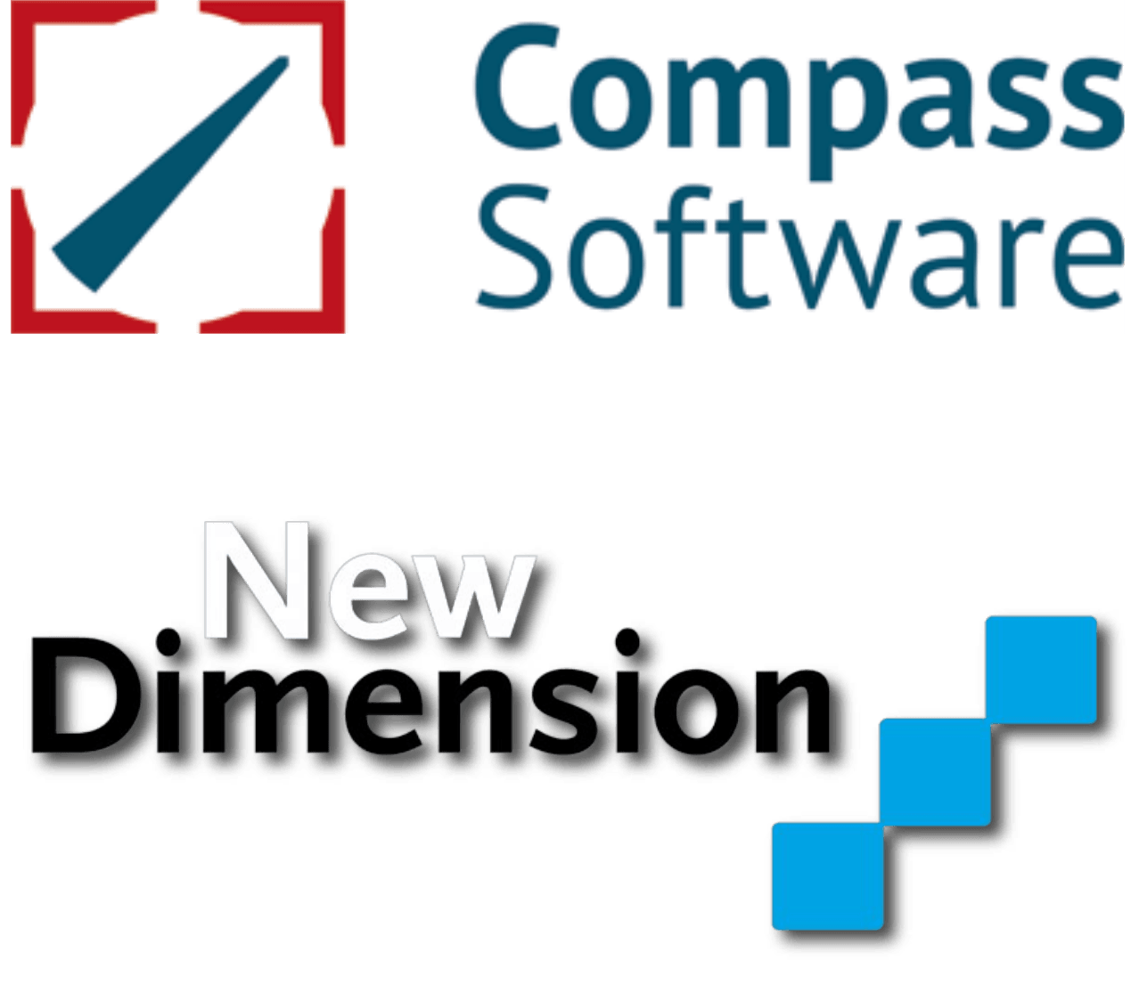 Logo-uri Compass Software si New Dimmension